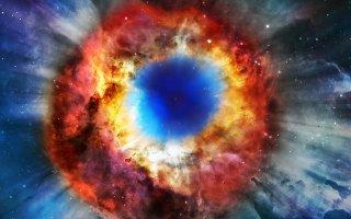 Mlhovina Helix je pozůstatkem po zániku hmotné hvězdy.