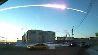 Meteorit v Rusku šokoval celý svět. Foto: Ruská dopravní služba.
