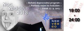 Noc vědců 2013