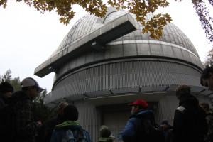 Kopule dvoumetrového, Perkova dalekohledu